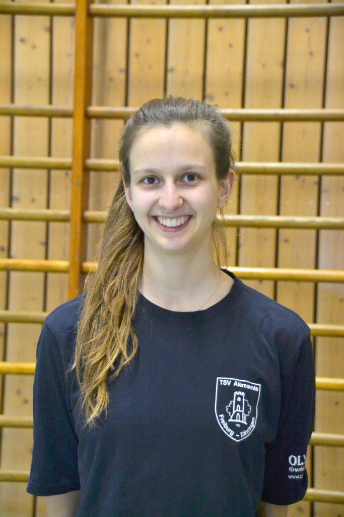Übungsleiterin Anna Pfäfflin