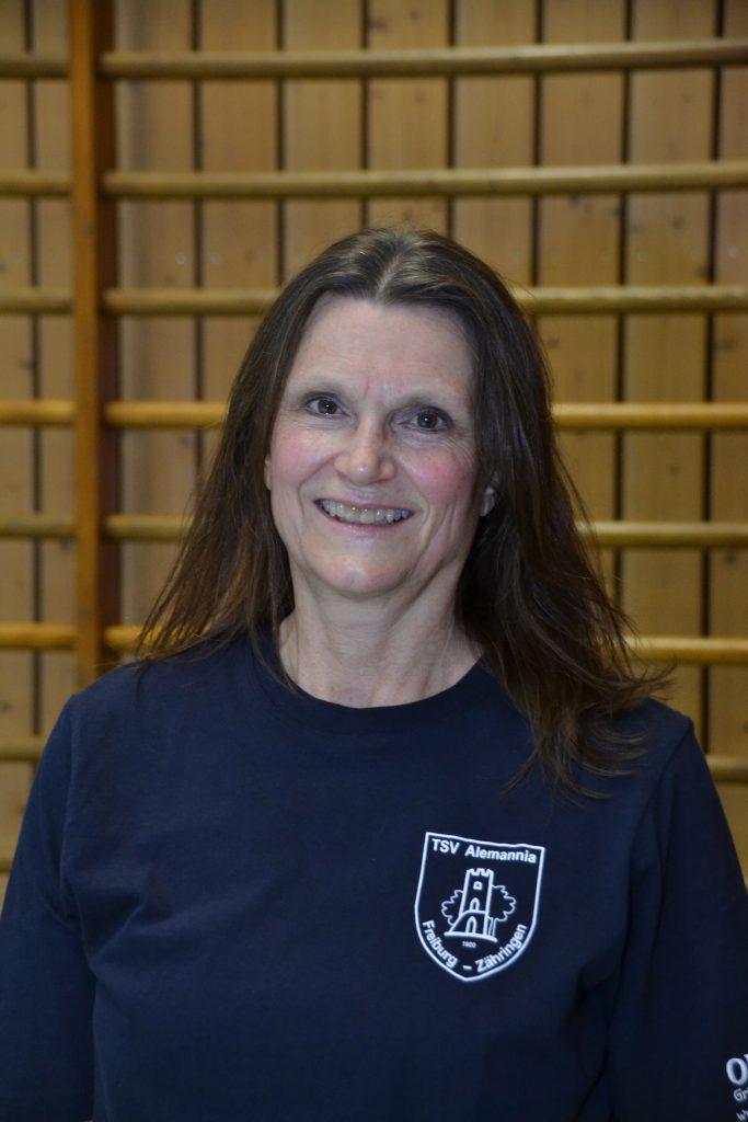 Übungsleiterin Desi Böringer