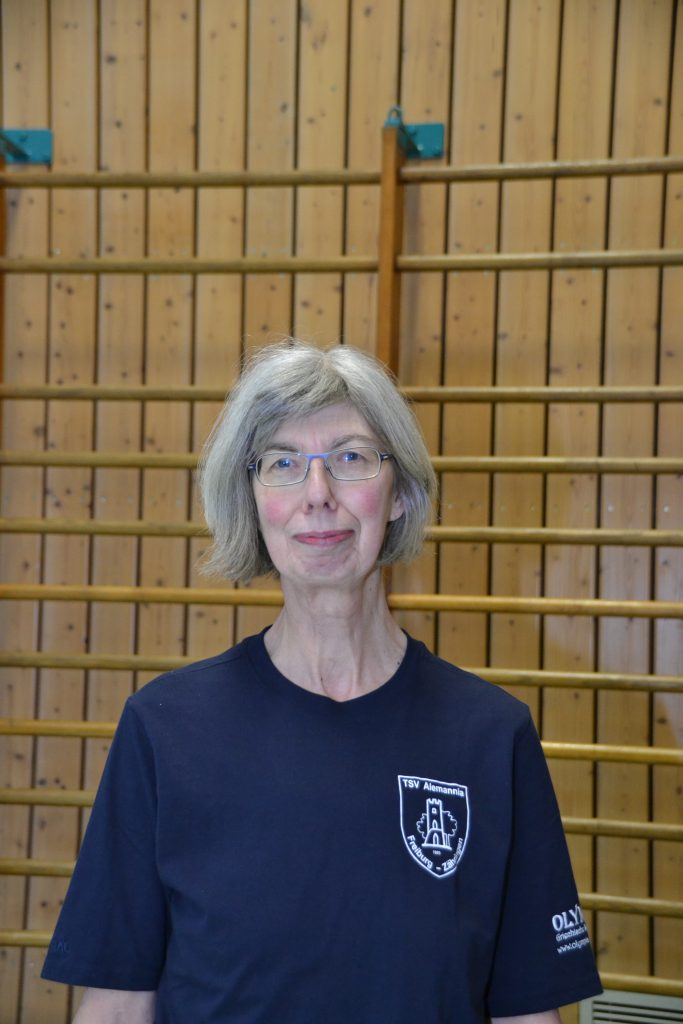 Kassenwärtin Ingrid Kunz