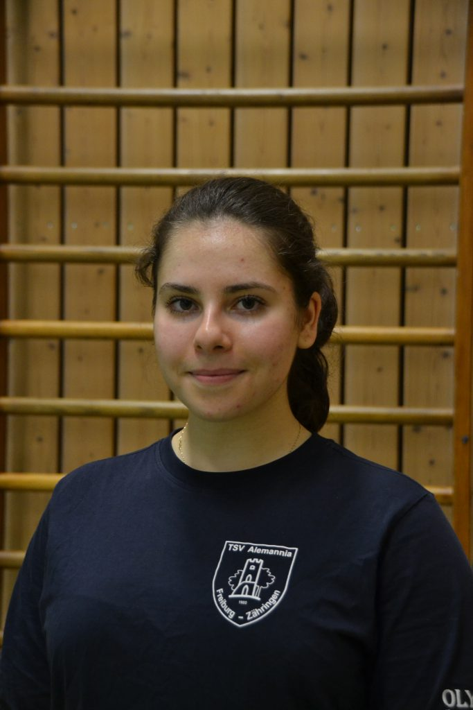 Helferin Miriam Wiesbrock