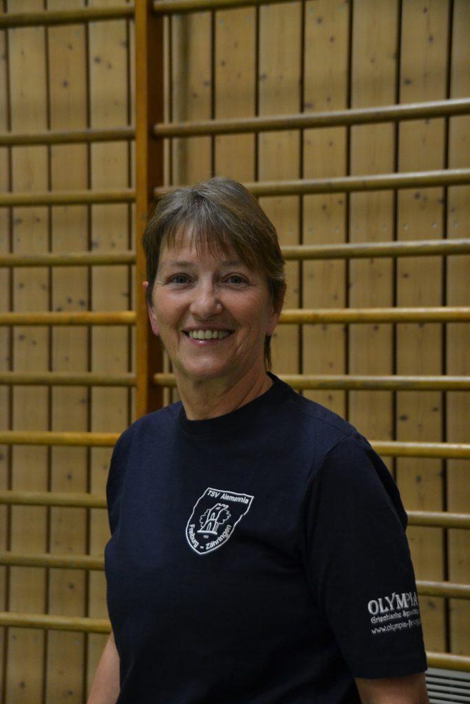 Übungsleiterin Sonja Bugger